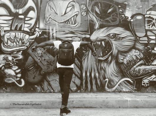 Black and White Street Graffiti