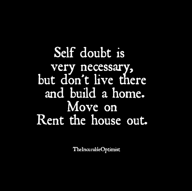 Quote on Self Doubt