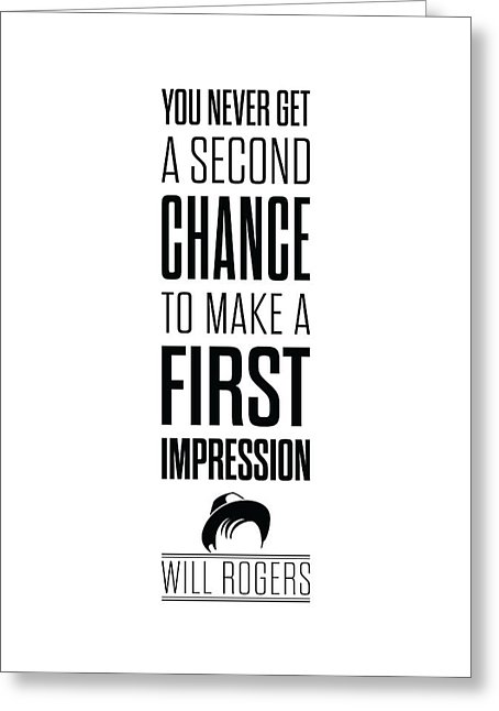 Quote on First Impression