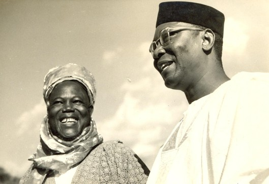 Portraits of Dr Nnamdi Azikiwe and Alhaji Ahmadu Bello